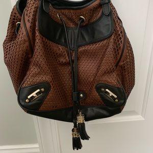Rebecca Minkoff black/black leather bag